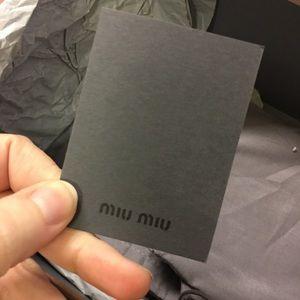 Miu Miu Shoes - Authentic Miu Miu Suede Platform Sandals Like New